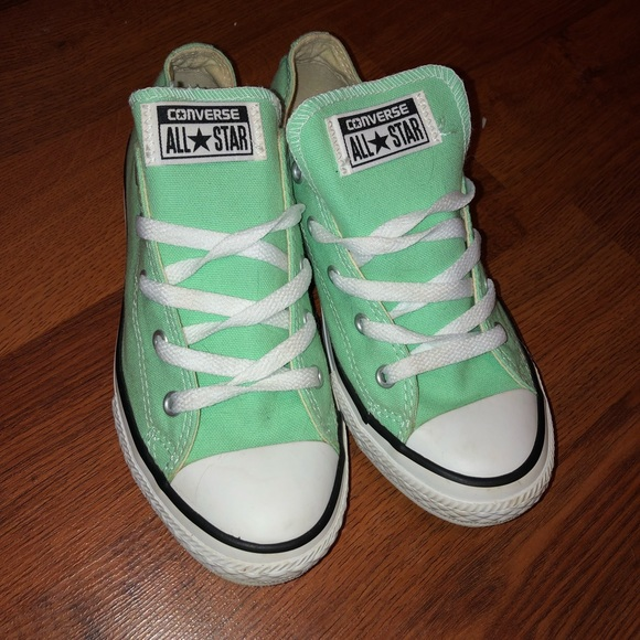 Converse Shoes - Mint Converse All Stars